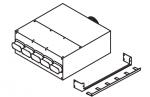 Коллектор, 4 подключения 60x130 мм. Ø160 мм.
